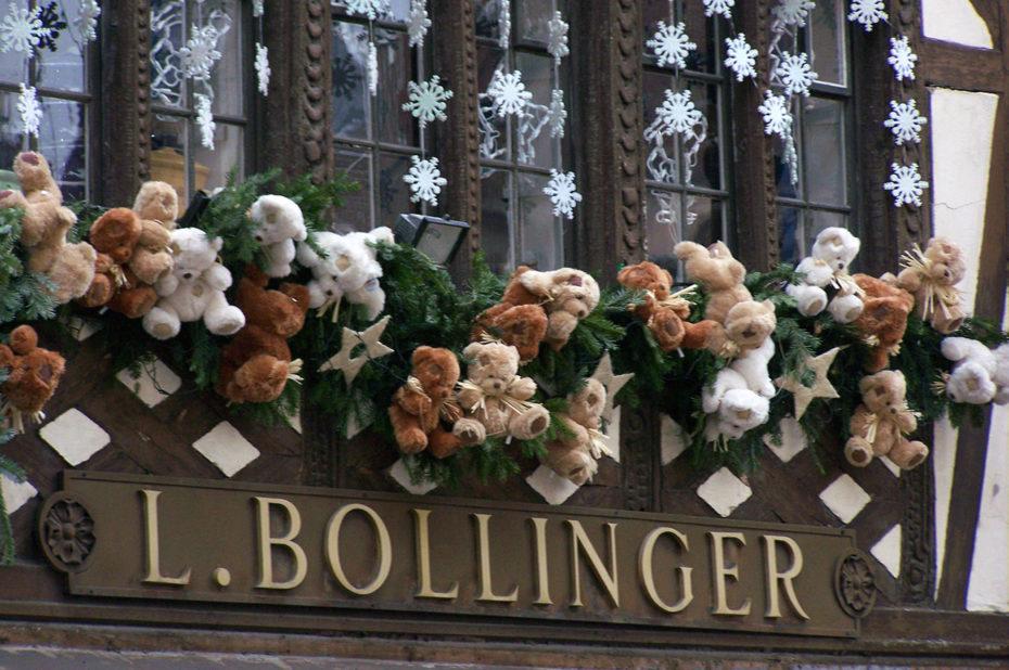 Les oursons de la maison Bollinger
