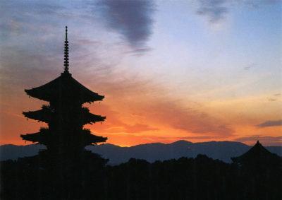 La Pagode à 5 étages du Temple Toji de Kyoto