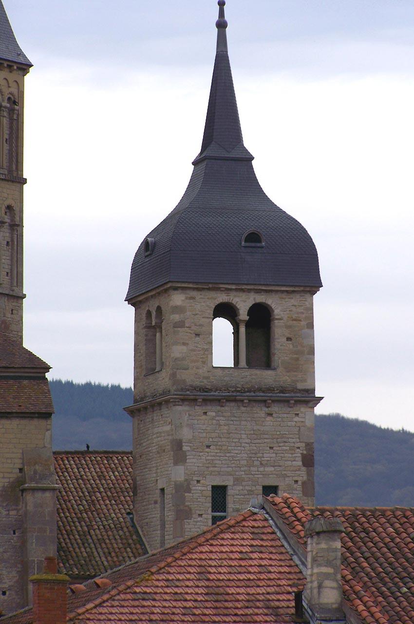 Le petit clocher de l'abbaye