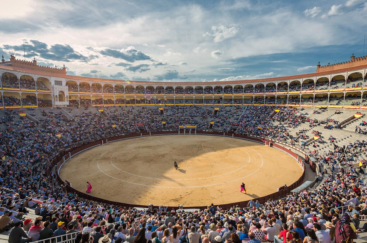 Tauromachie dans les arènes de Las Ventas