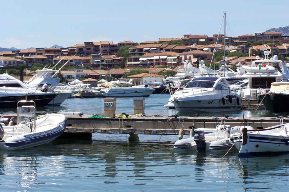 Le port de plaisance Porto Rotondo