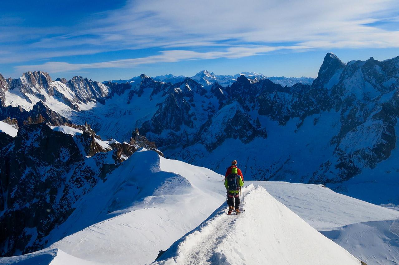 Randonnée au Mont-Blanc, le toit de l'Europe