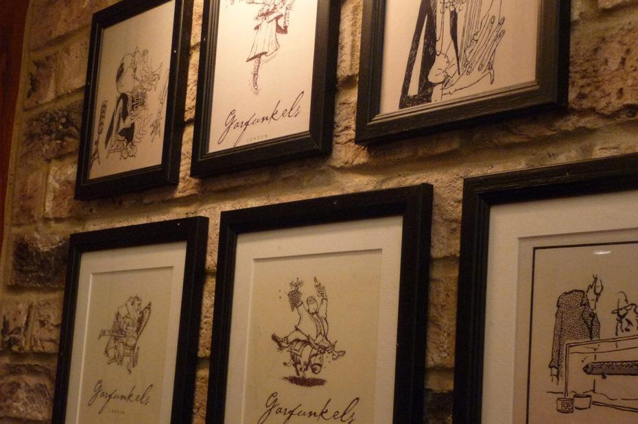 Au restaurant Garfunkel's à Gloucester Arcade
