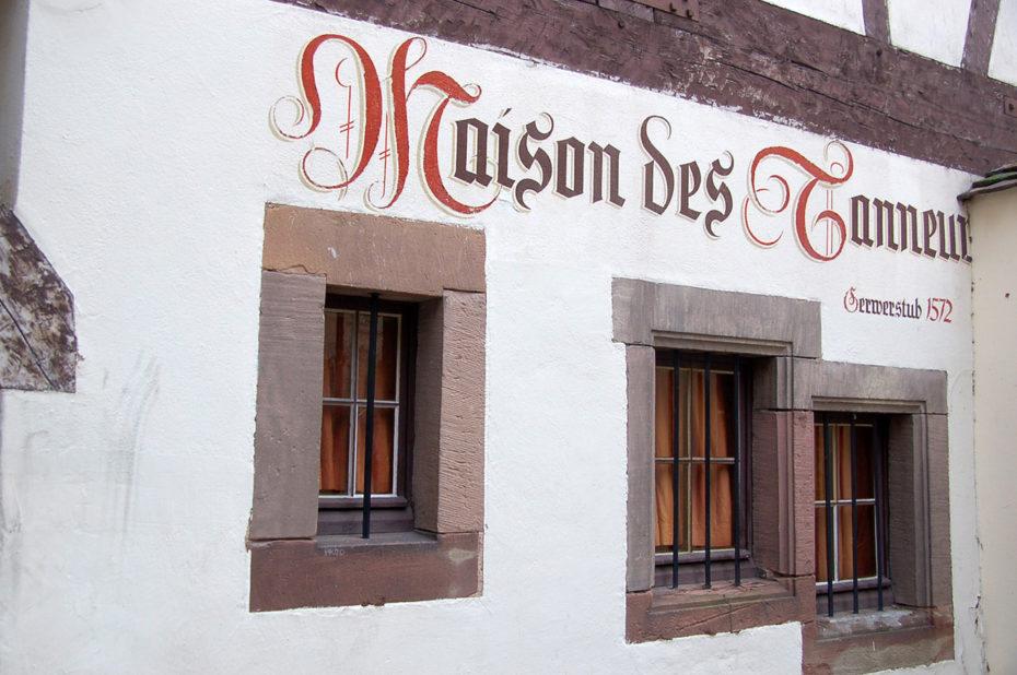 Le restaurant La Maison des Tanneurs