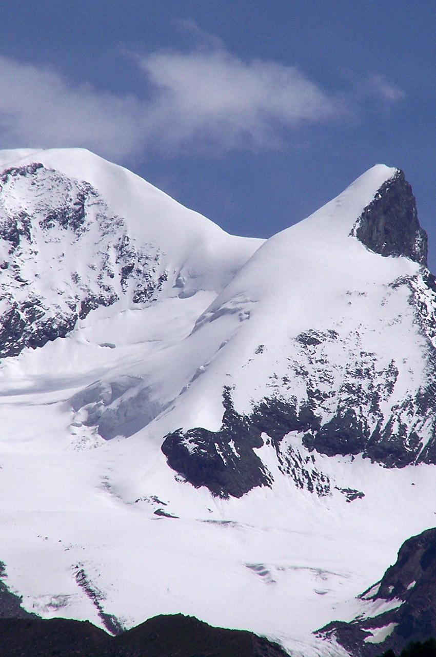Le sommet du Strahlhorn (4190 m)