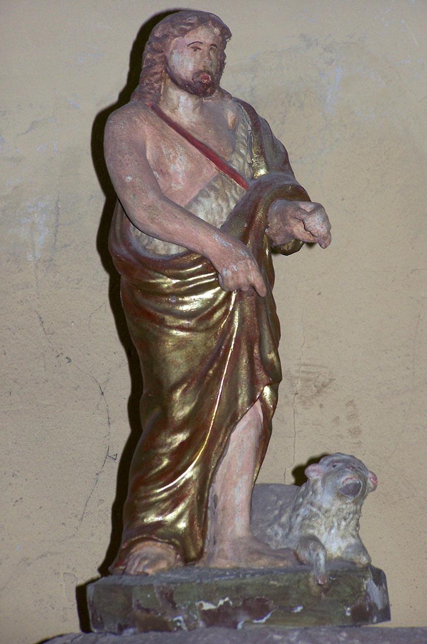 Statue d'un berger