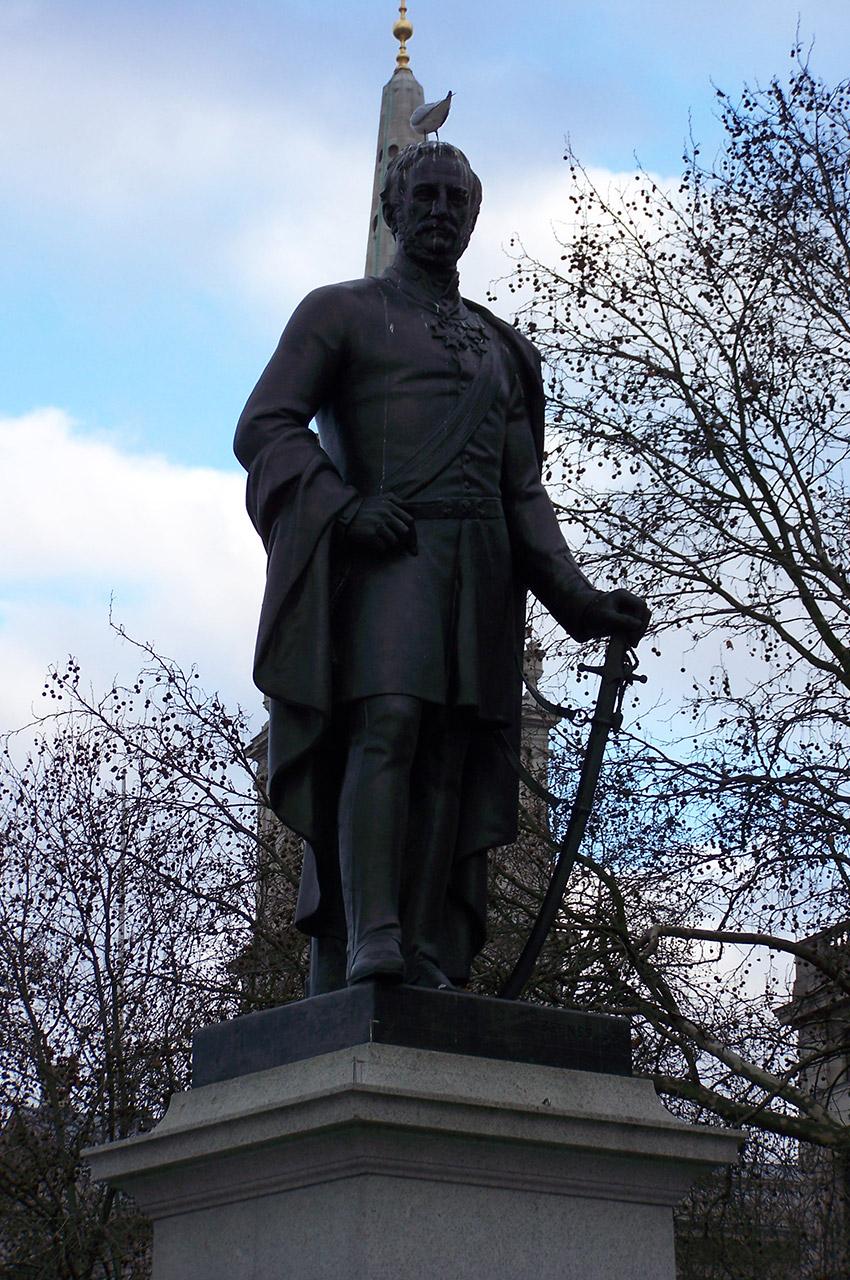 Statue du général Havelock