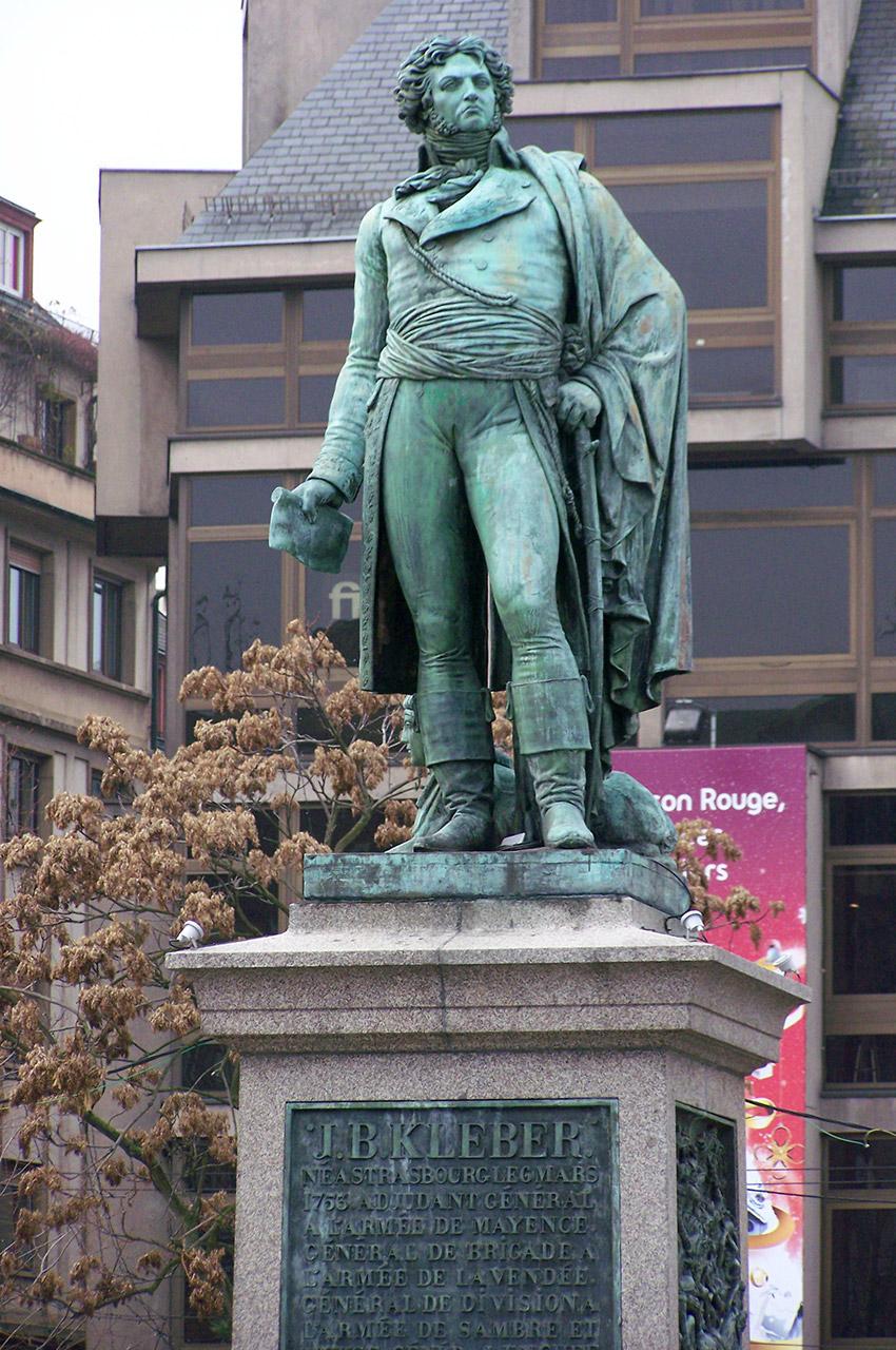 Statue de Jean-Baptiste Kléber, général français