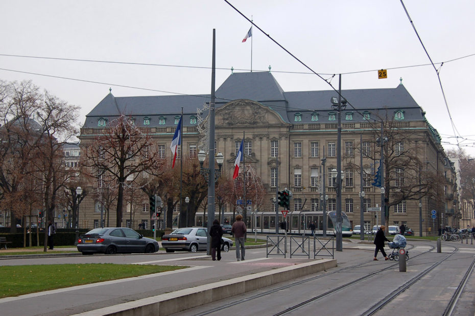 La Préfecture de Strasbourg
