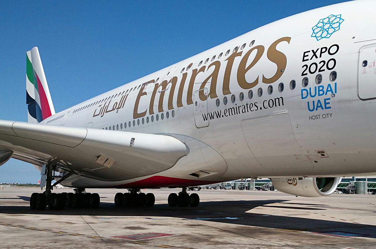 Airbus A380 de la compagnie Emirates