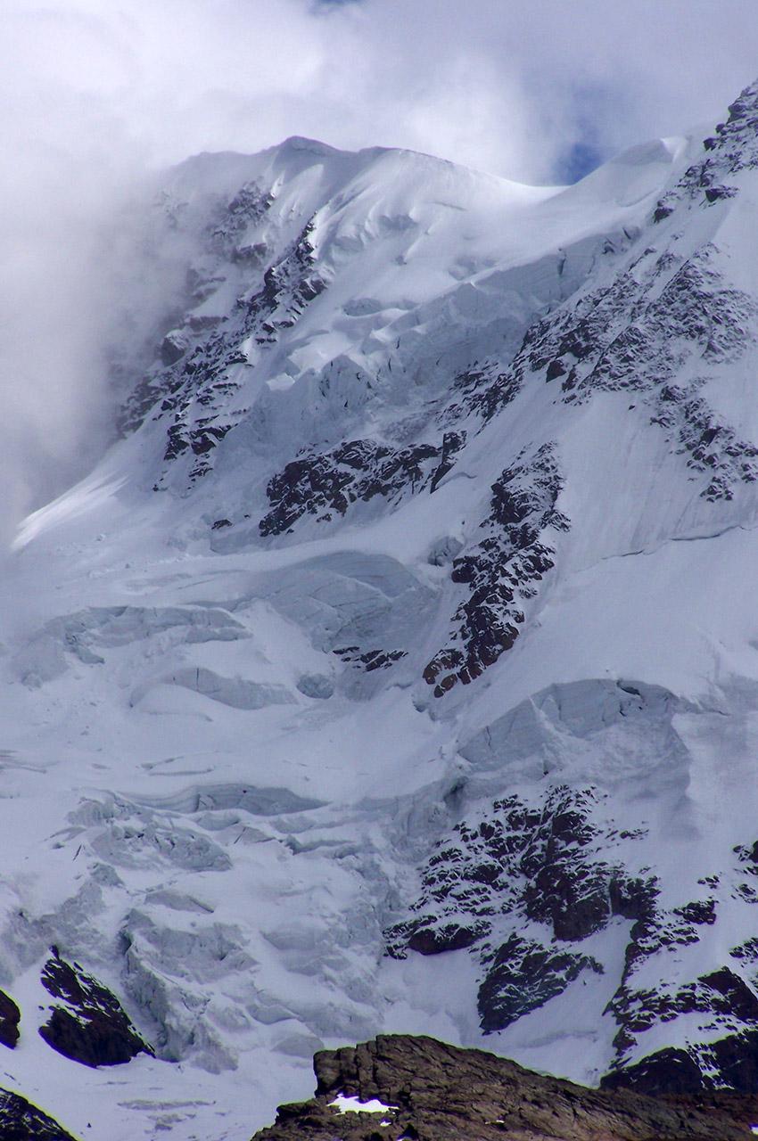 Des avalanches en prévision sur ces montagnes de plus de 4000 m