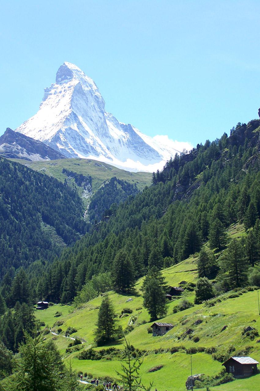 Le Cervin, symbole de la Suisse