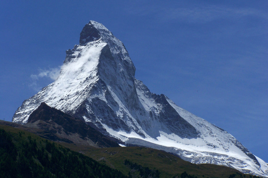 Le Cervin se nomme Matterhorn en allemand
