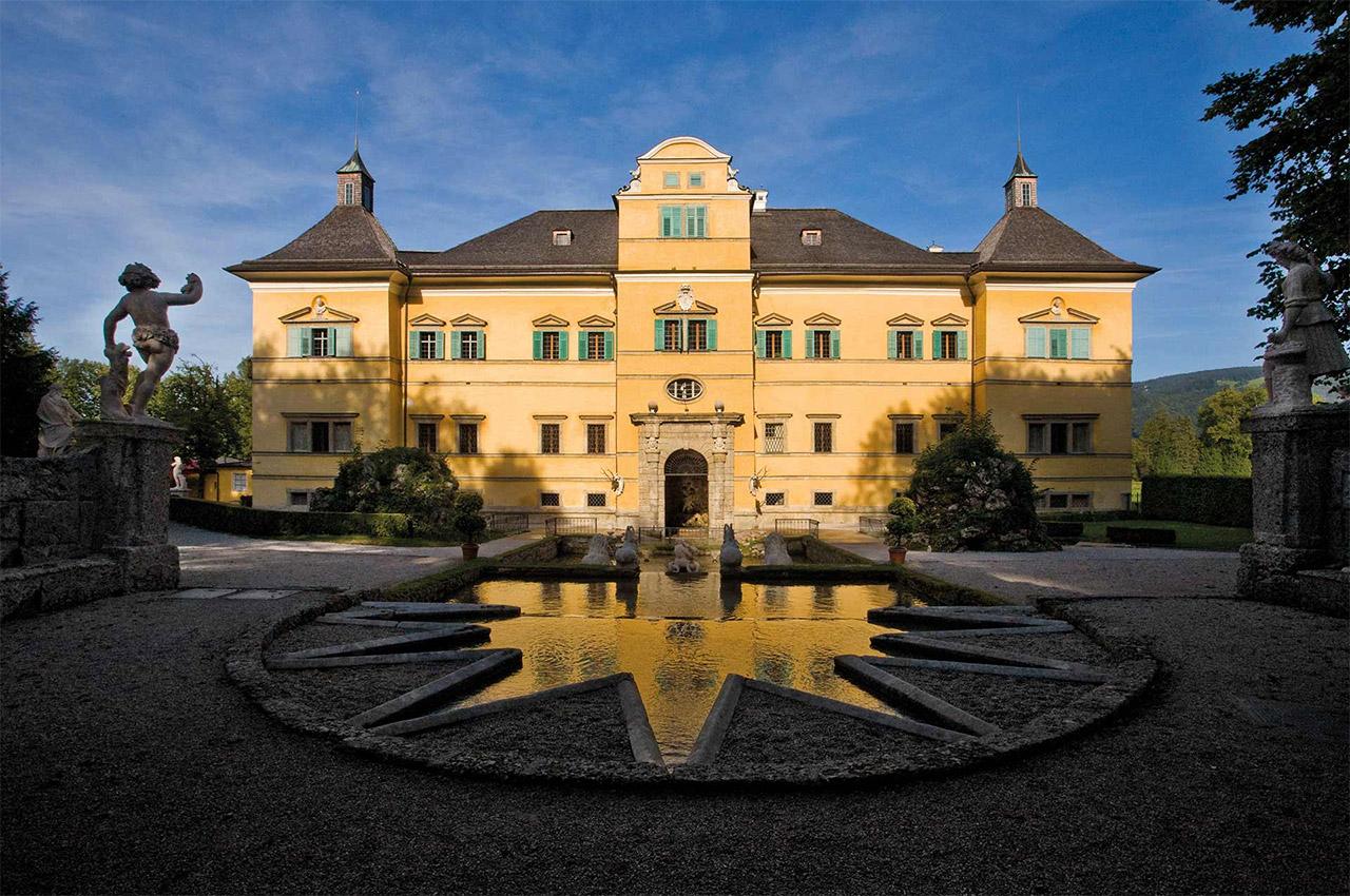 Château de Hellbrunn à Salzbourg