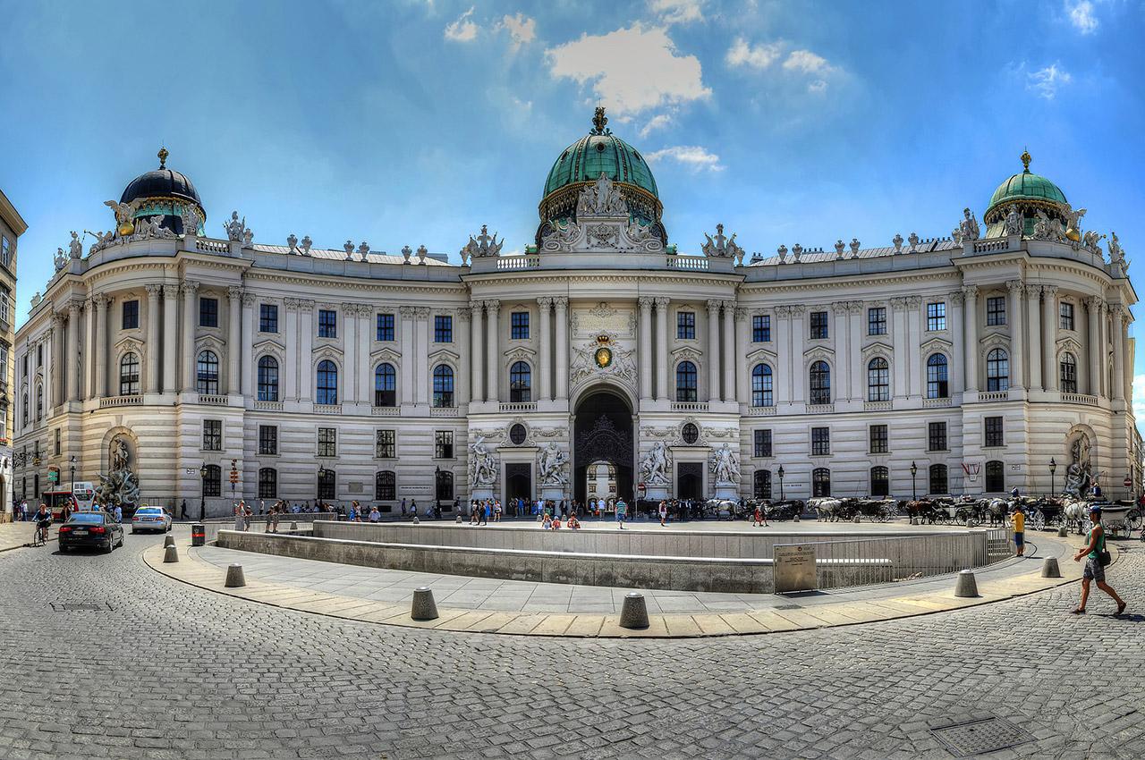 Château Hofburg de Vienne, demeure du Président de la République