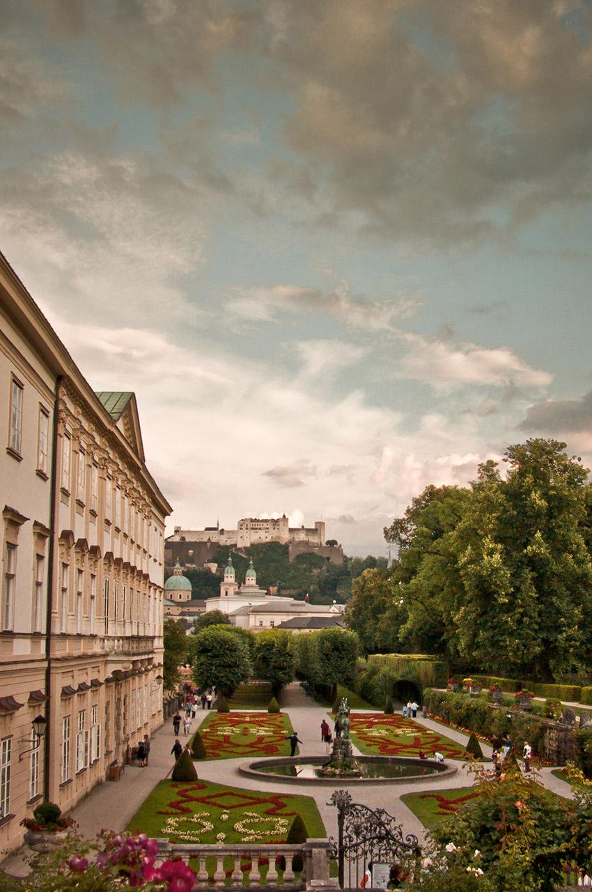 Le château Mirabell et ses jardins