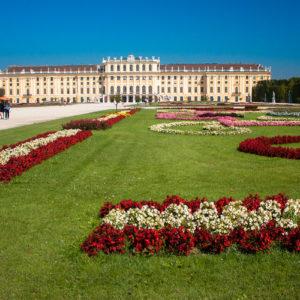 Le château de Schönbrunn et ses jardins