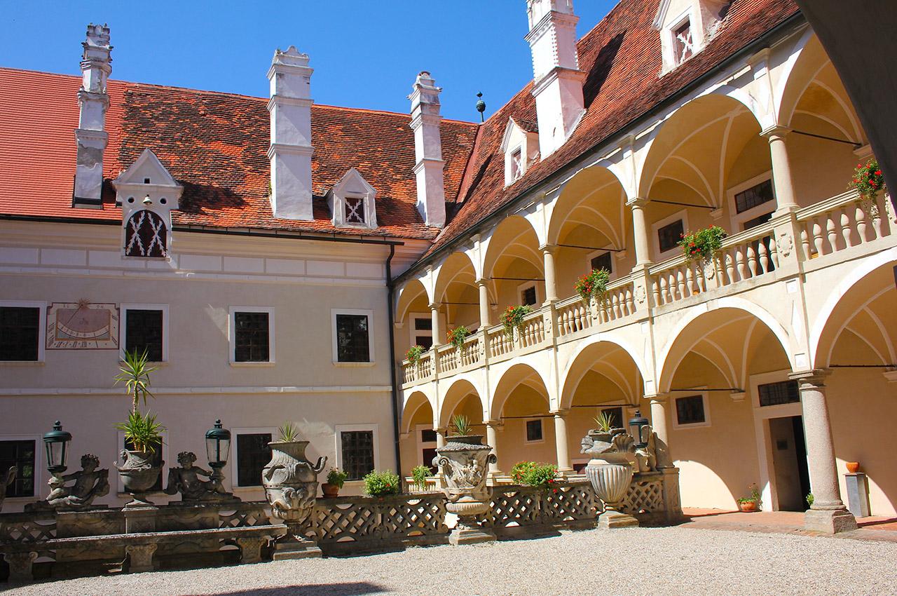Cour intérieure du château Greillenstein