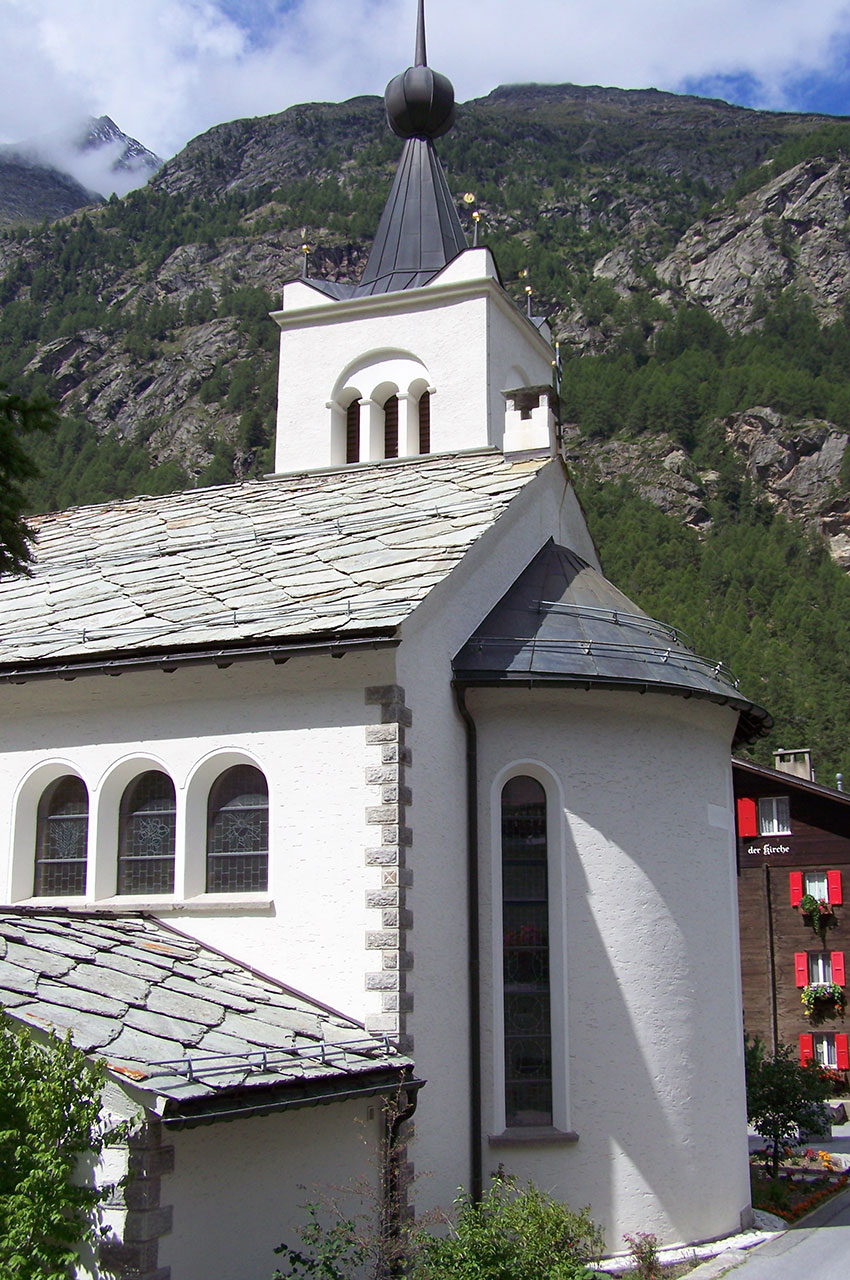 L'église catholique romaine de Täsch