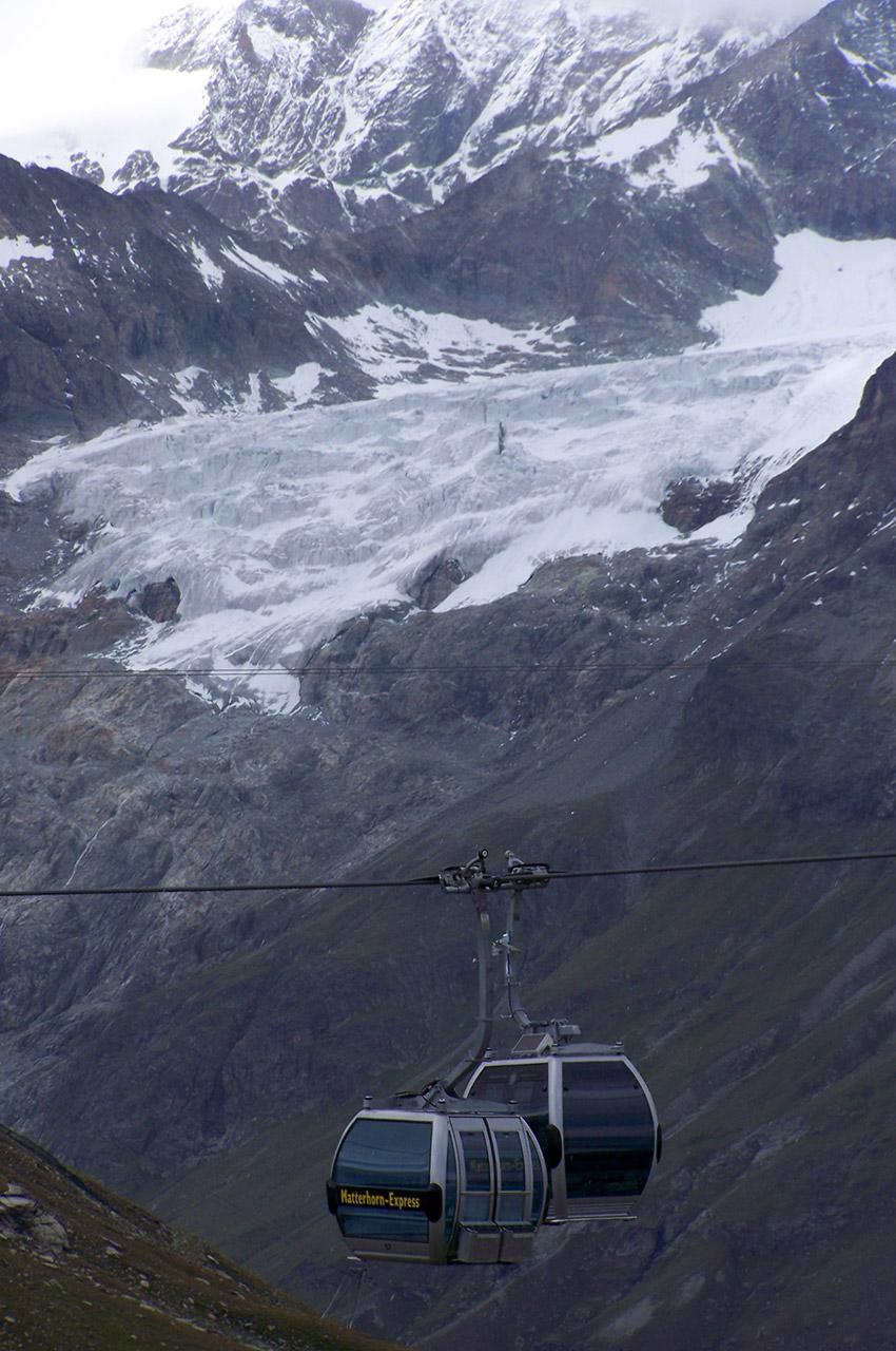 Le téléphérique du Matterhorn Express