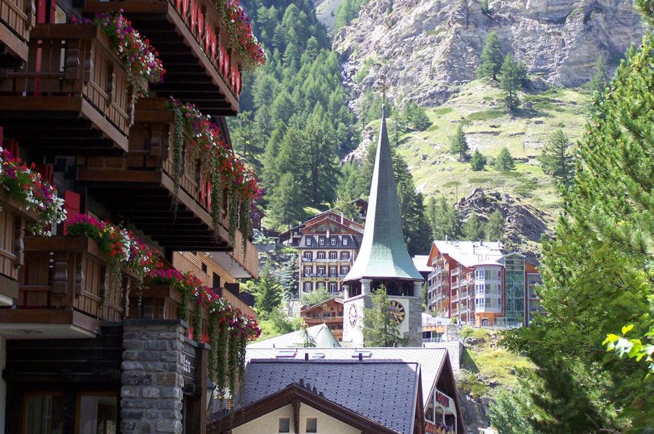 Le village authentique de Zermatt