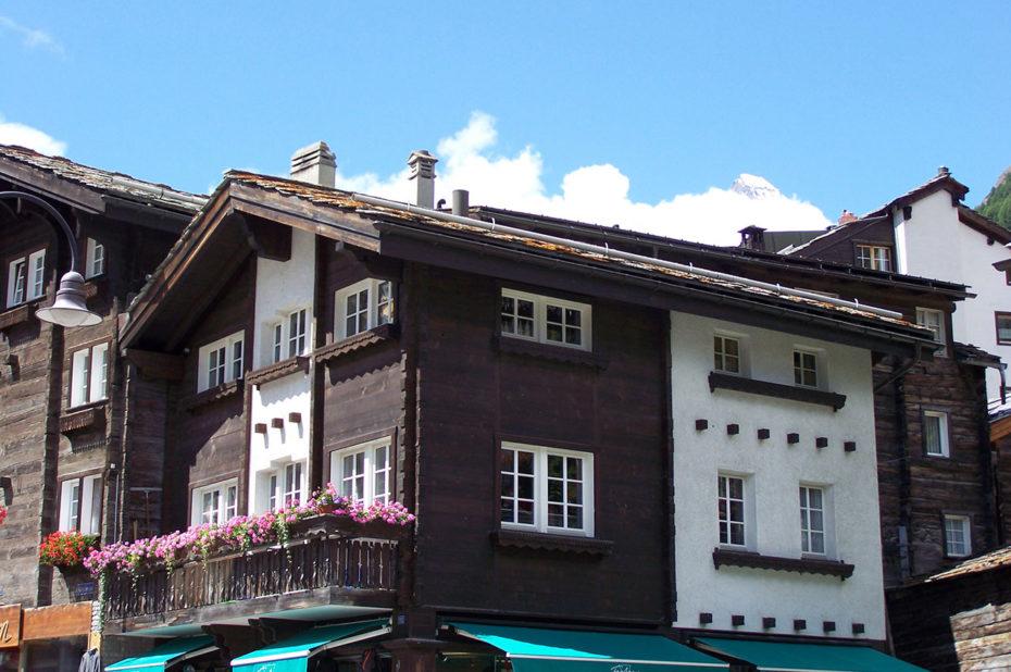 Zermatt, village de caractère qui a su garder son authenticité