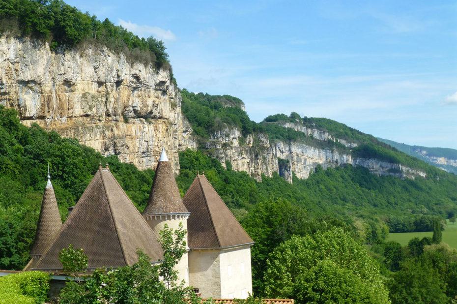 Le château de Saint-Sorlin en Bugey
