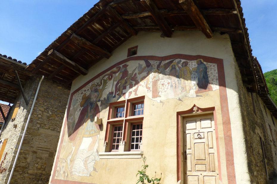 Fresque de Saint Christophe