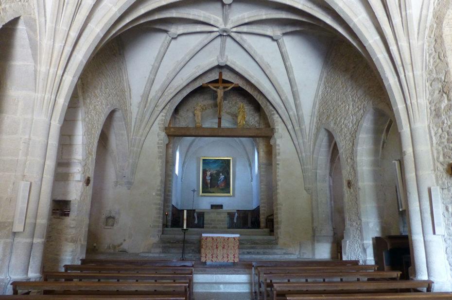 Intérieur de l'église de Saint-Sorlin en Bugey