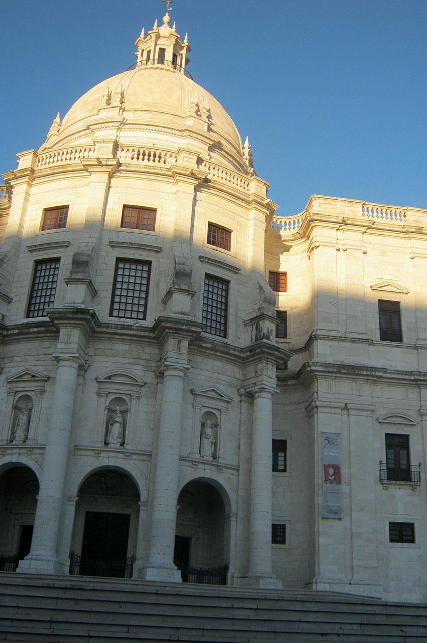 Ancienne l'église de Santa Engrácia reconvertie en Panthéon