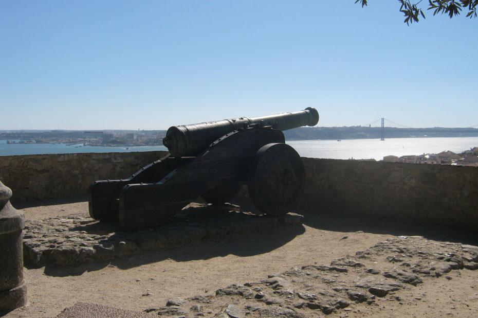 Un des canons qui défendaient la ville