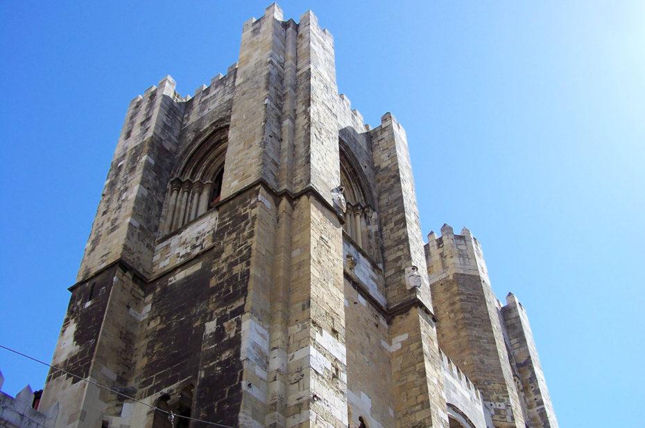 La cathédrale Sé de Lisbonne date du XIIe siècle