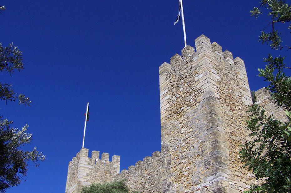 Le château Saint-Georges bâti au 5e siècle