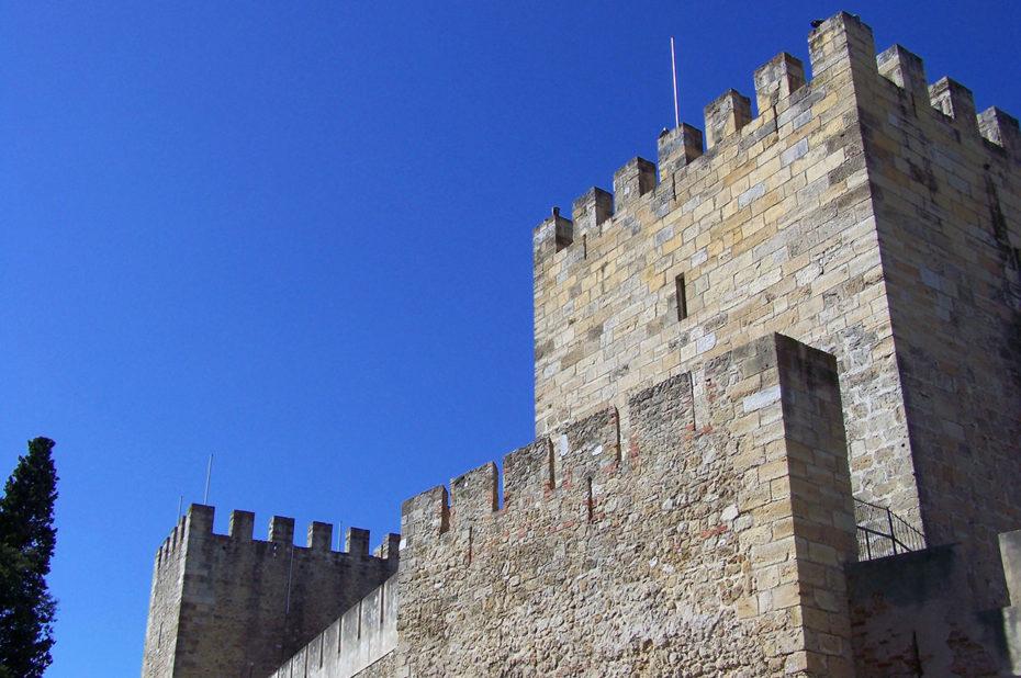 Les fortifications du Château Saint-Georges