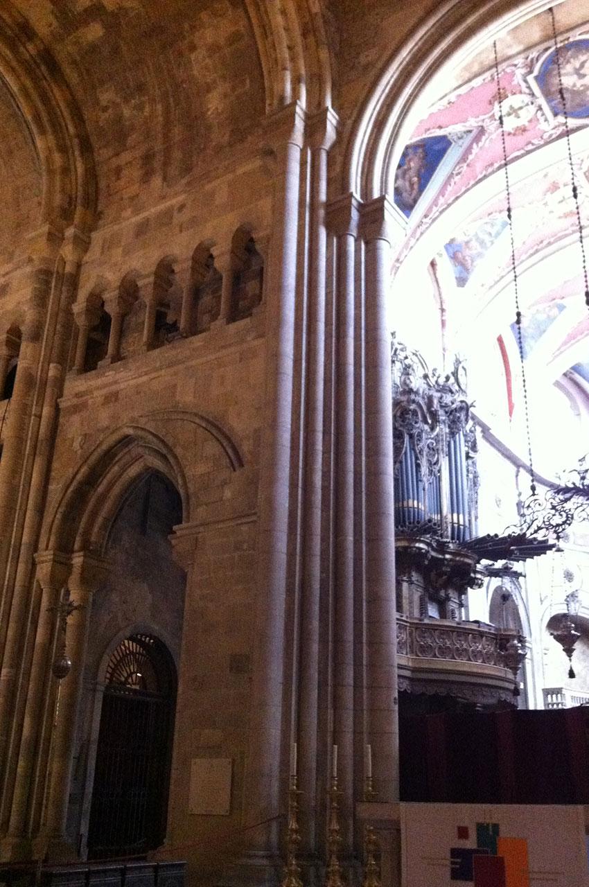 L'intérieur de la Cathédrale Santa Maria Maior