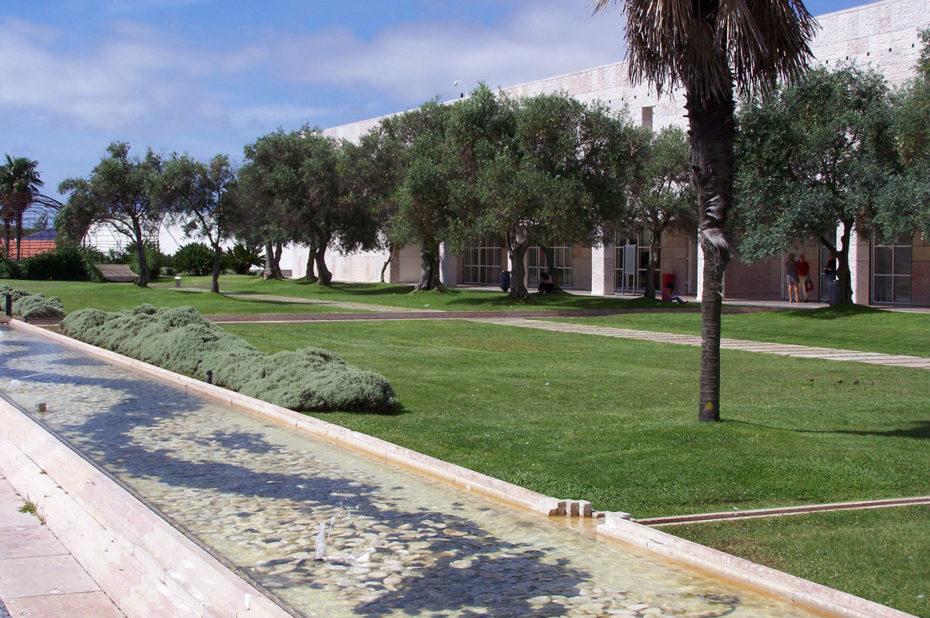 Les jardins du centre culturel de Belém