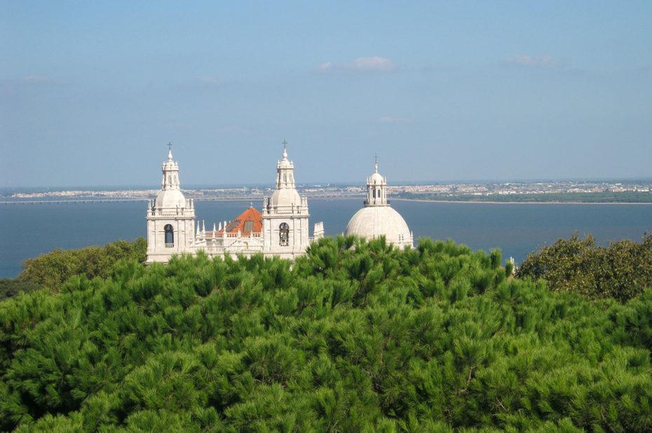 Le monastère San Vincente de Fora vue depuis le château Sao Jorge