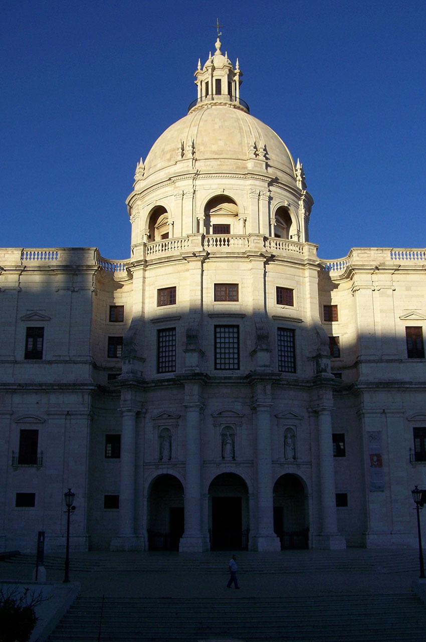 Le Panthéon national est en fait l'ancienne église dédiée à sainte Engrâce