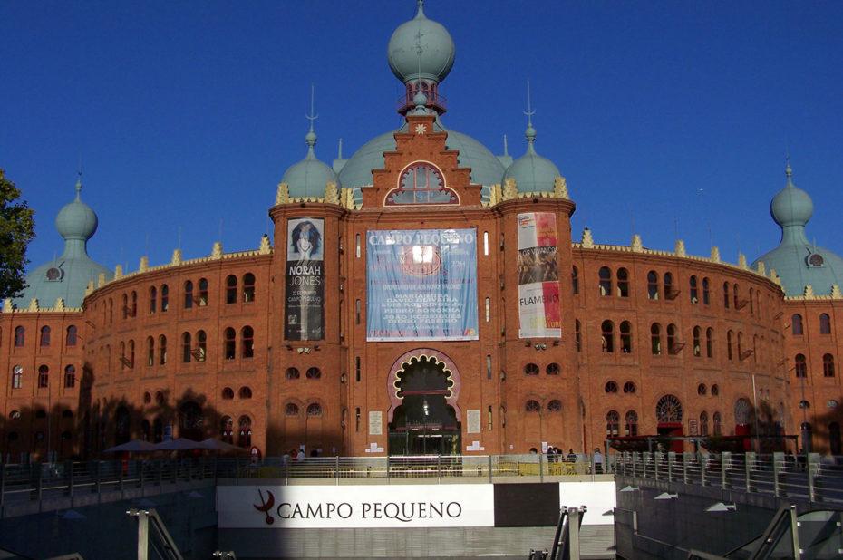 Les arènes du Campo Pequeno ont une capacité d'environ 10000 places