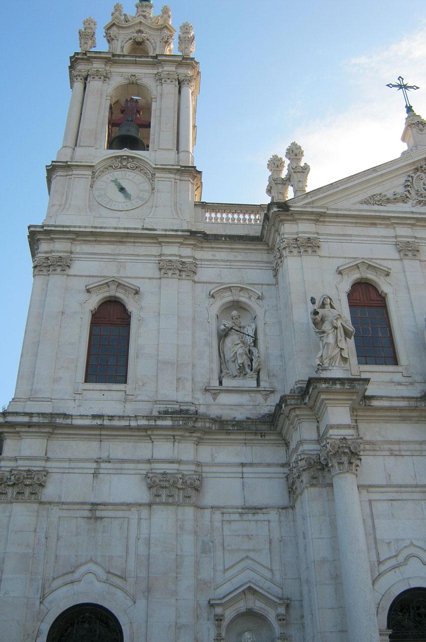La Basilique d'Estrela, chef d'œuvre de l'école Mafra