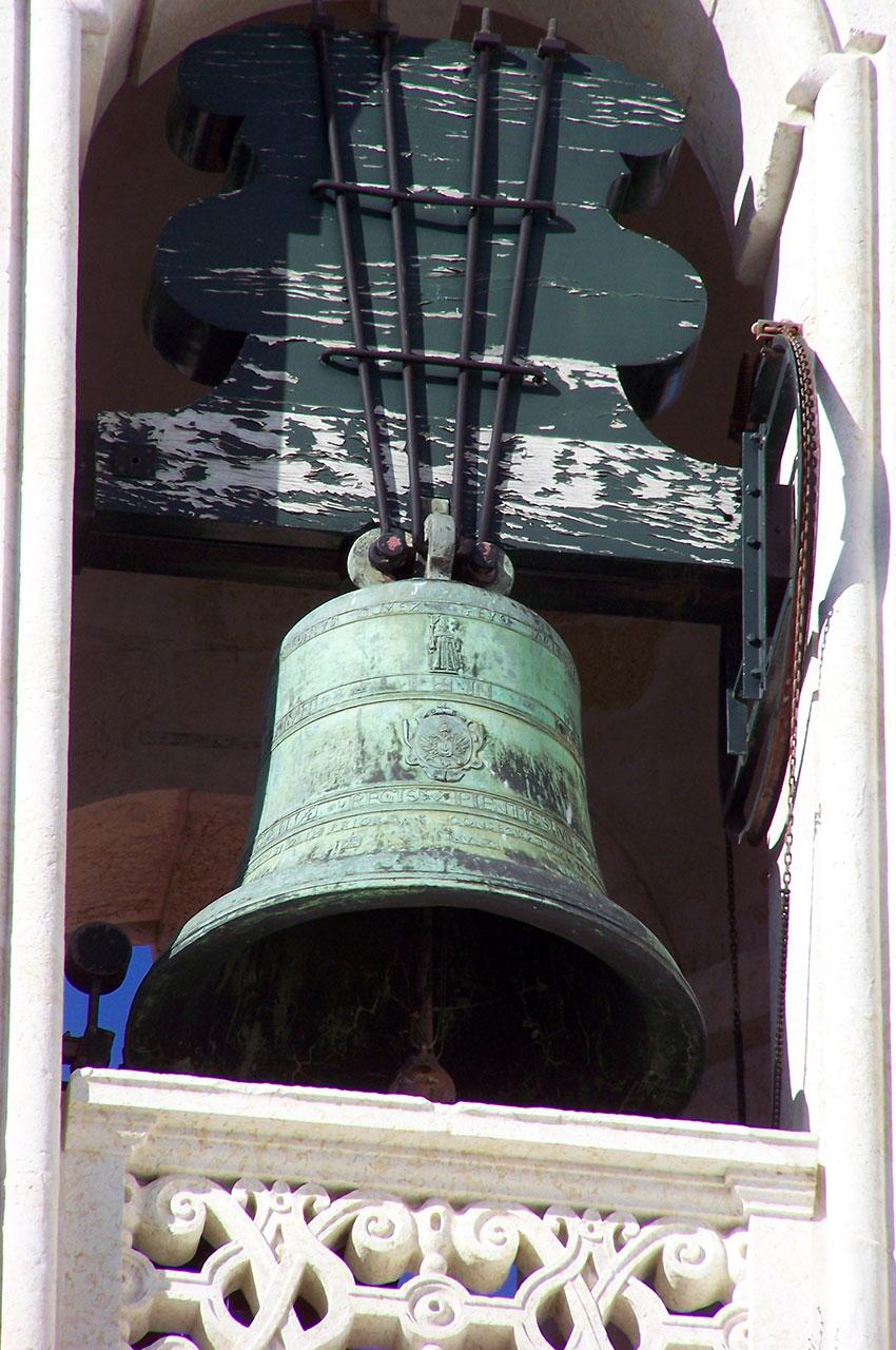 La cloche de l'église de Graça