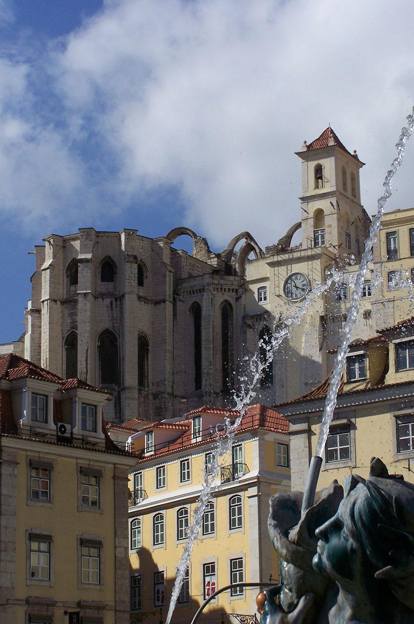 Le couvent des Carmes depuis Restauradores