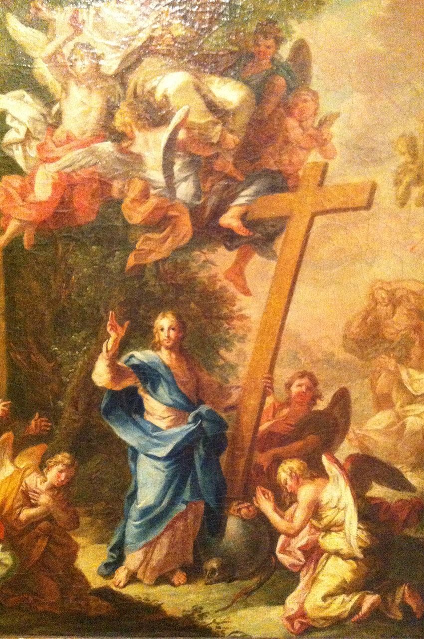Cristo Salvador do Mundo, peinture du XVIIIe siècle