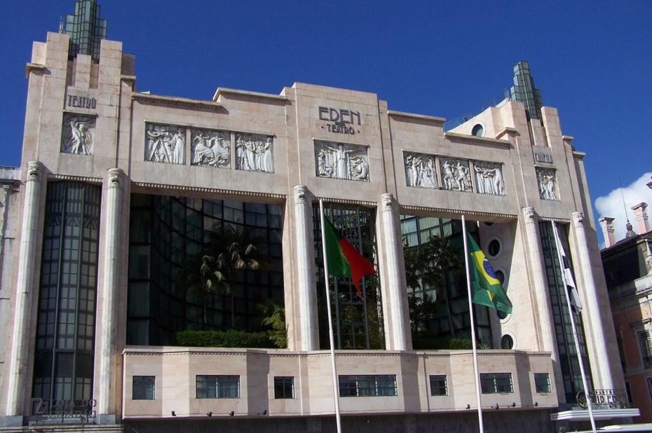Le théâtre Éden, sur la place des Restauradores