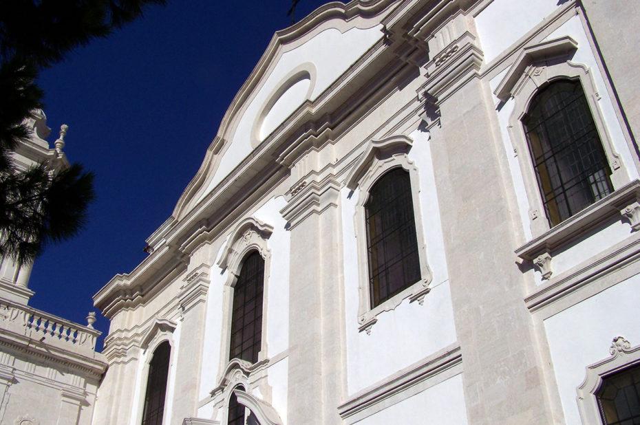 L'église de Graça est située sur la colline du même nom et surplombe Lisbonne