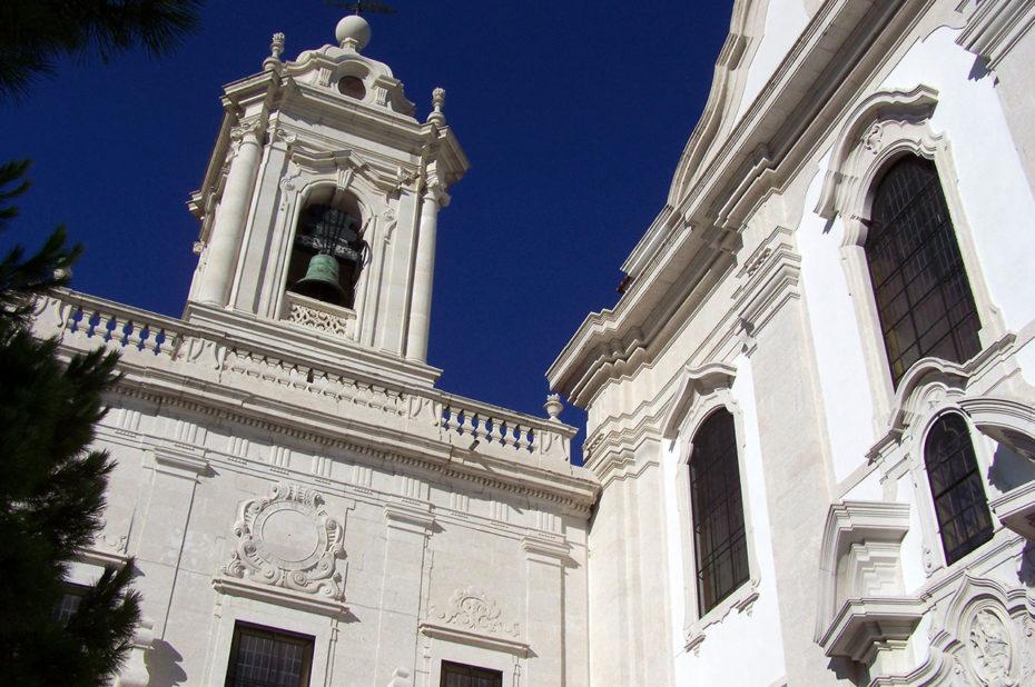 L'église de Graça a été reconstruite plusieurs fois