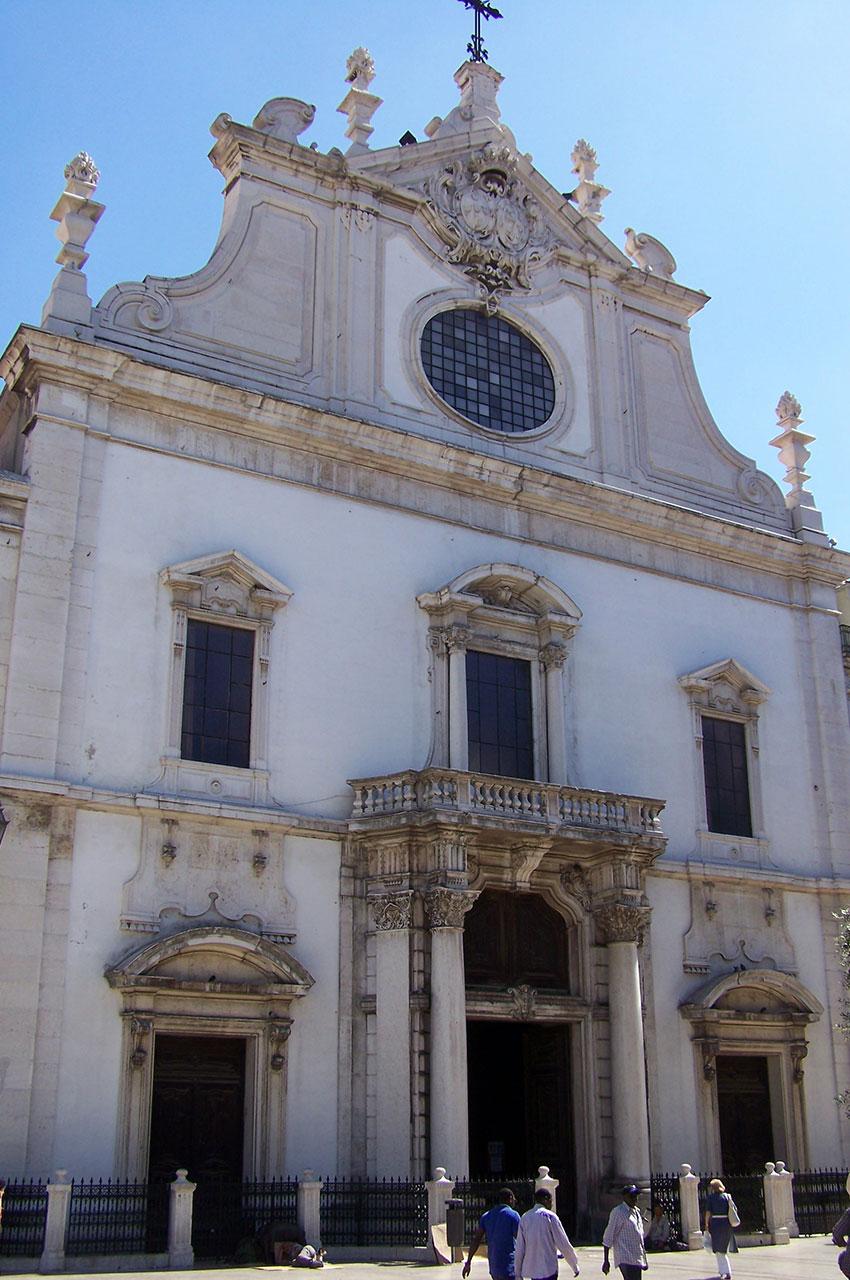 Église São Domingos de Lisbonne