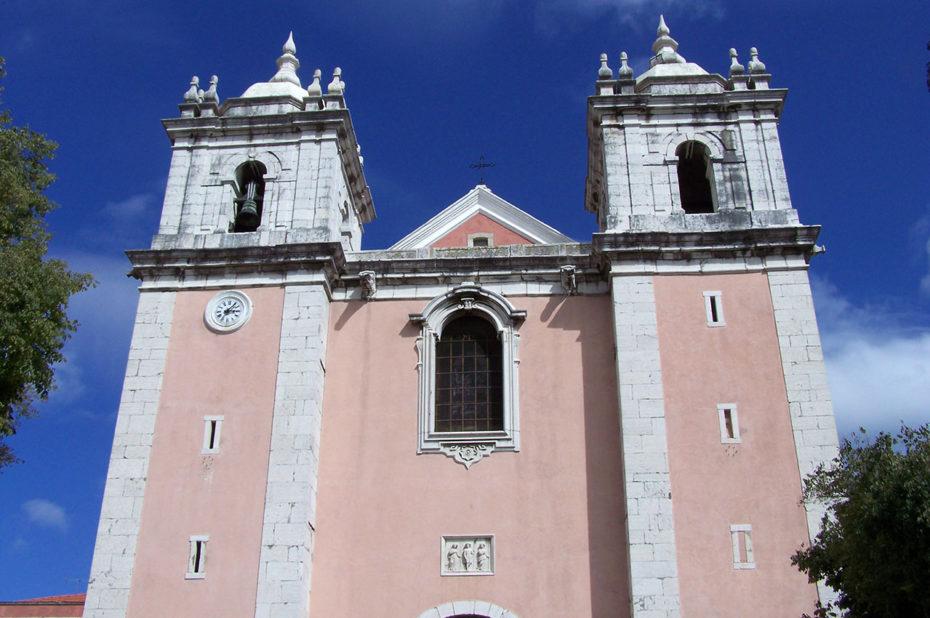 Façade de l'église de Santos-o-Velho
