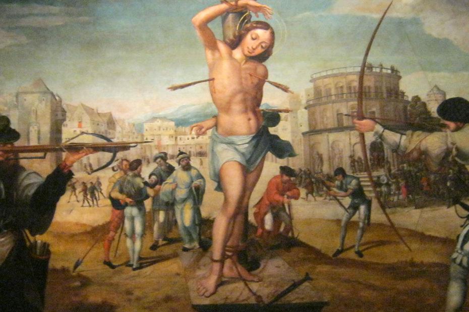 Le martyr de Saint-Sébastien