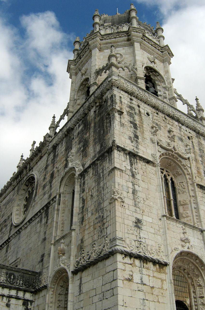 Le monastère des Hiéronymites est étroitement lié à Vasco de Gama